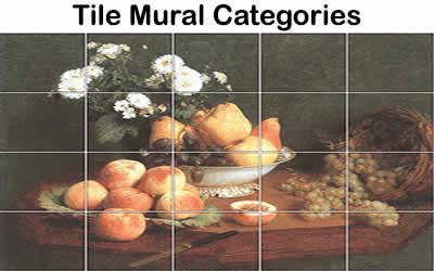 Custom Tile Murals Accent And Outdoor Tile Murals Tile Murals By - Custom ceramic tiles maker