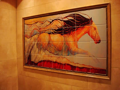 Custom Tile Murals Accent And Outdoor Tile Murals Tile