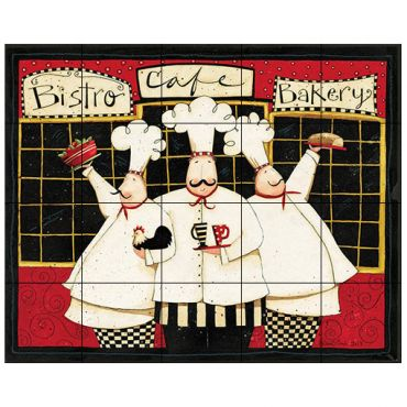 Chef Tile Murals